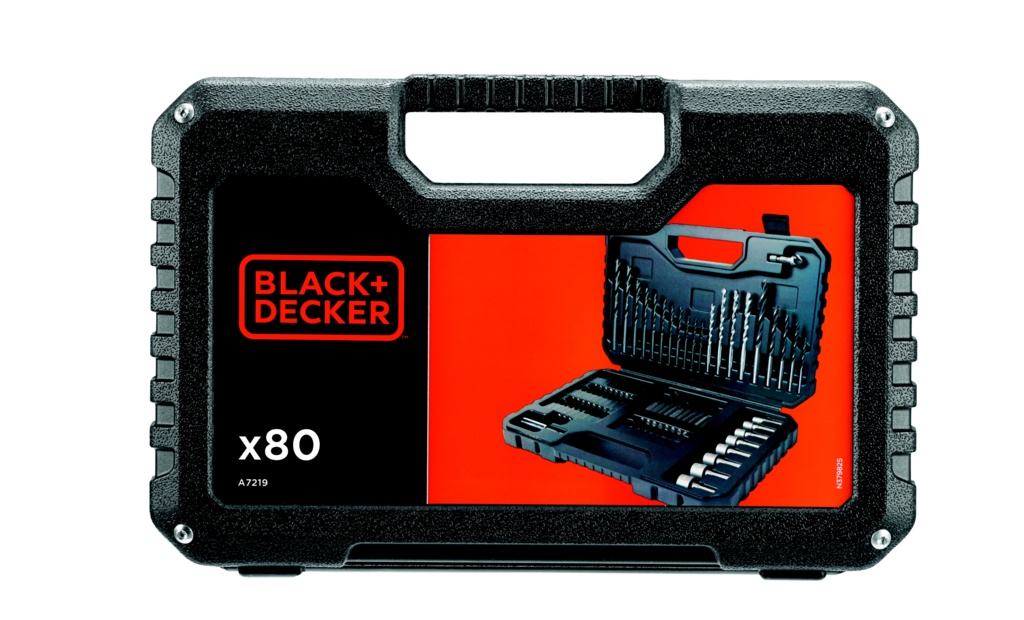 Black & Decker Mixed Accessory Set - 80 Piece