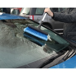 Streetwize Deluxe Brush Rubber Squeegee