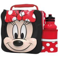 Minnie Mouse Boyztoys 3D Lunch Bag With Bottle