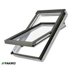 Fakro White Acrylic Centre Pivot Window