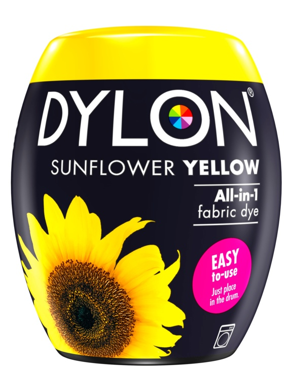 Dylon Machine Dye Pod - 05 Sunflower Yellow