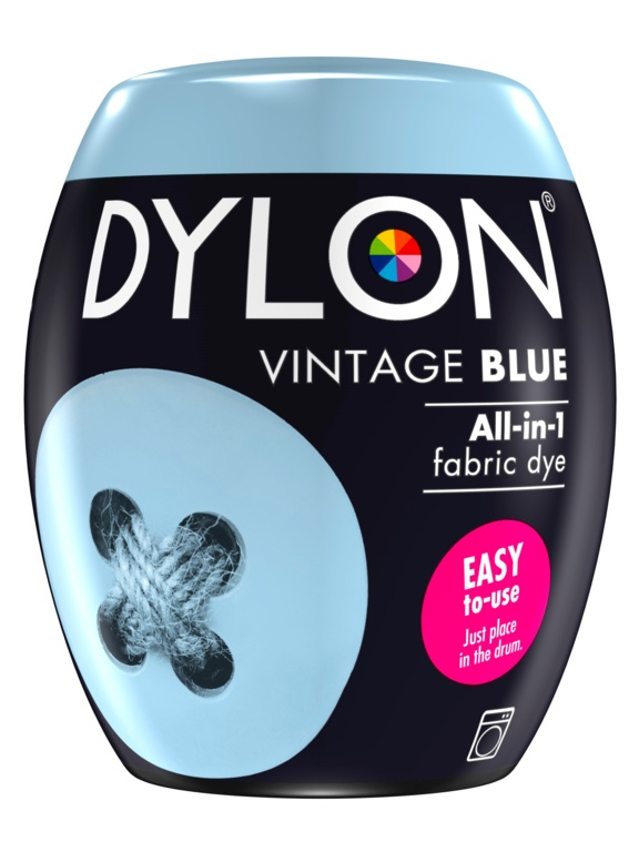 Dylon Machine Dye Pod - 06 Vintage Blue