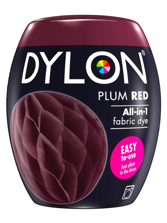 Dylon Machine Dye Pod - 51 Plum Red