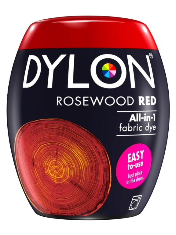 Dylon Machine Dye Pod - 64 Rosewood Red