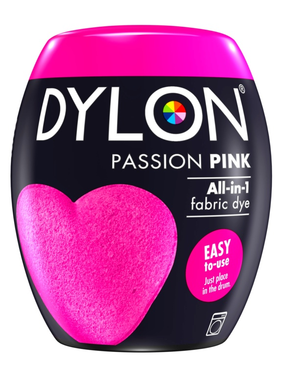 Dylon Machine Dye Pod - 29 Passion Pink