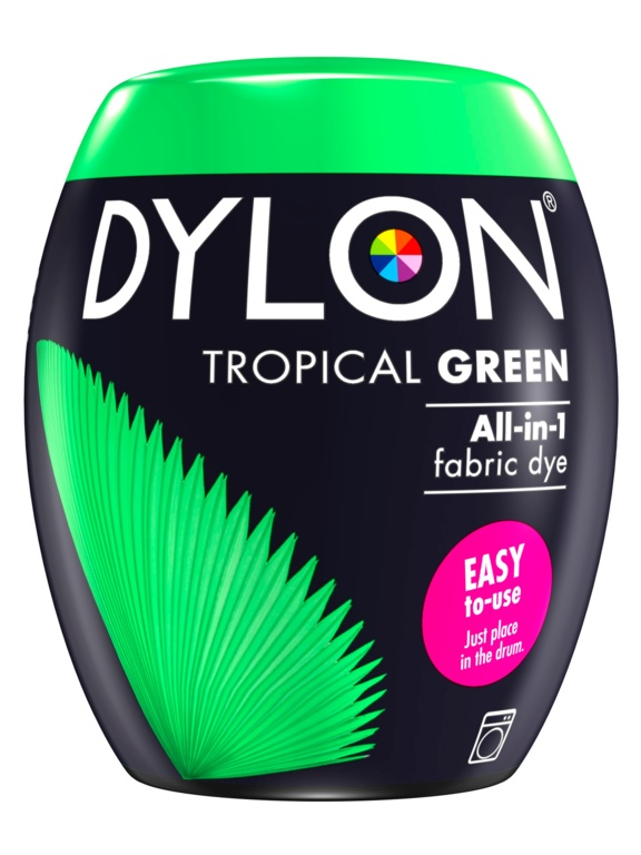 Dylon Machine Dye Pod - 03 Tropical Green