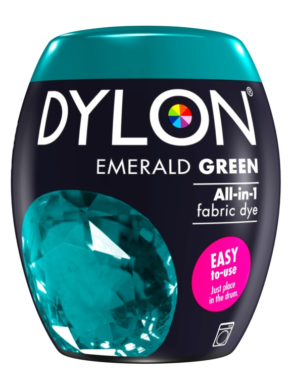 Dylon Machine Dye Pod - 04 Emerald Green