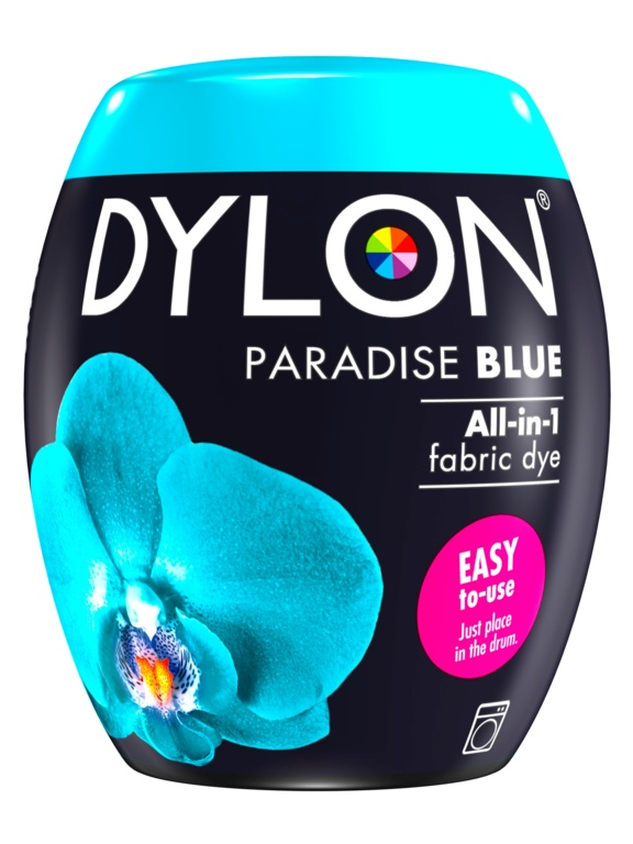 Dylon Machine Dye Pod - 21 Paradise Blue