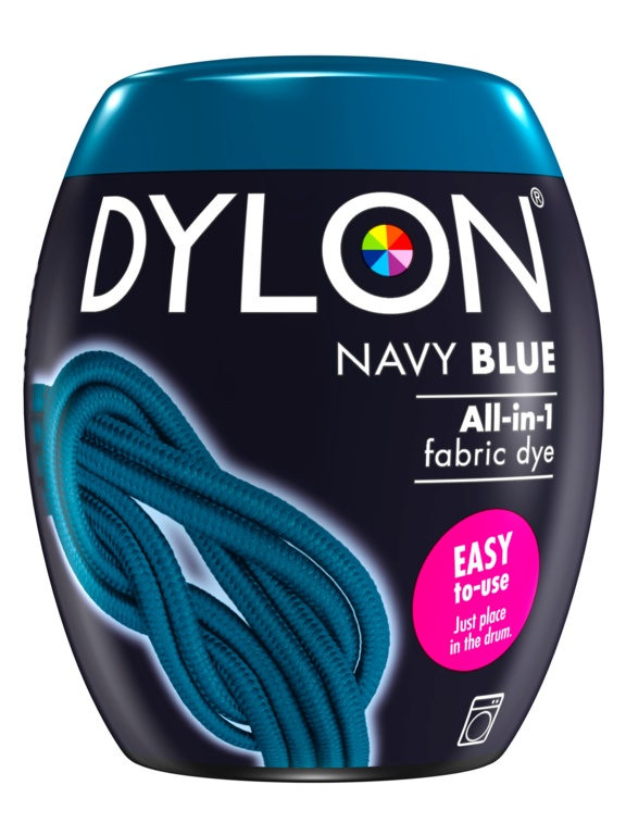 Dylon Machine Dye Pod - 08 Navy Blue