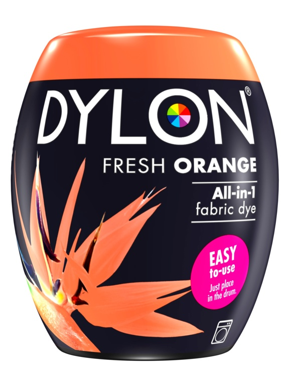 Dylon Machine Dye Pod - 55 Fresh Orange