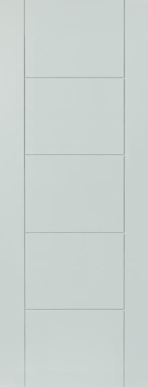 Jb Kind Tigres White Pre-Finished Internal Door - 762mm