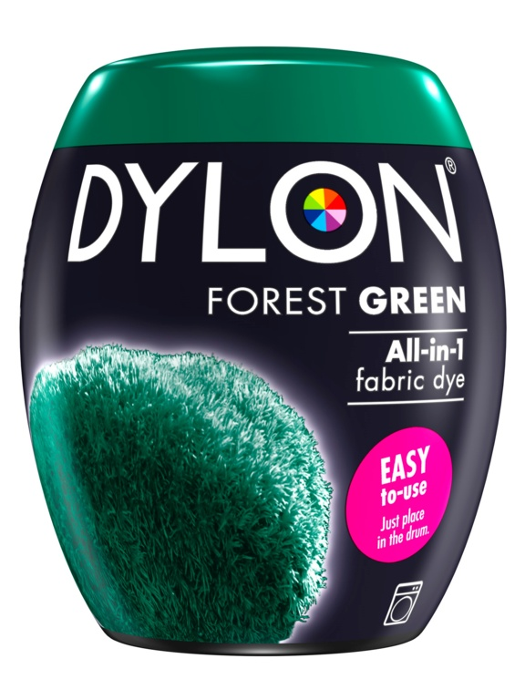 Dylon Machine Dye Pod - 09 Forest Green