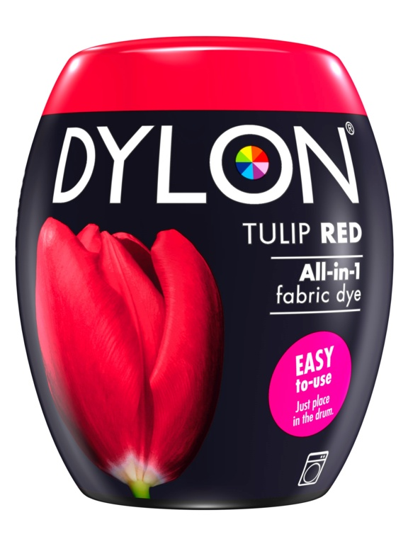 Dylon Machine Dye Pod - 36 Tulip Red