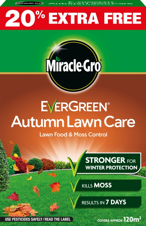 Miracle-Gro Evergreen Autumn Lawn Care - 100m2 + 20% Extra