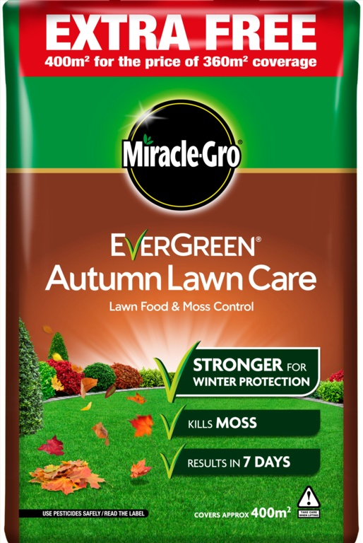 Miracle-Gro Evergreen Autumn Lawn Care - 360m2 +10% Extra