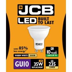 JCB LED GU10 3w