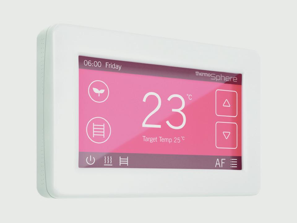 Thermosphere Dual Control Thermostat With Wifi - White 20a