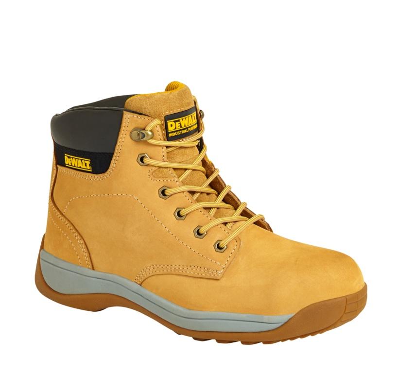 DeWalt Wheat Builder Nubuck Safety Hiker Boot - Size 10