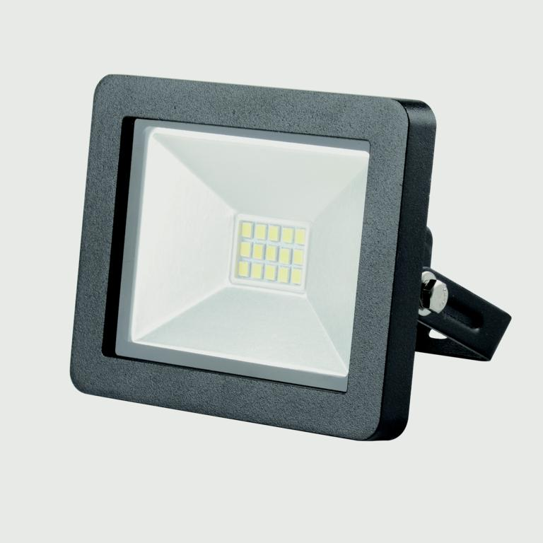 Lyveco LED Slim Floodlight 800 Lumens - Black 10w