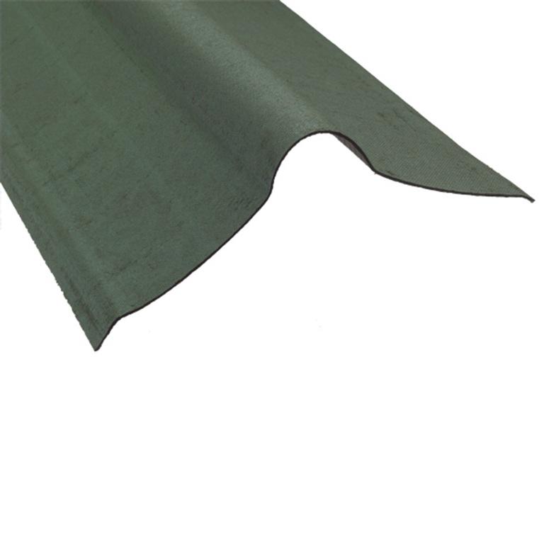 Ariel Coroline Bitumen Ridge - Green 1m