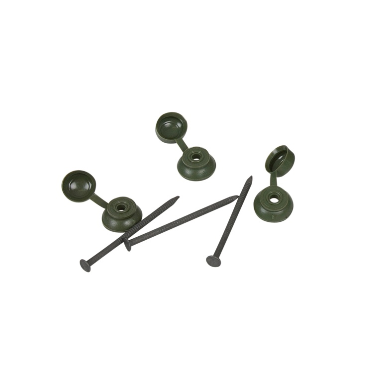 Ariel Coroline Fixings Pack Of 20 - Green