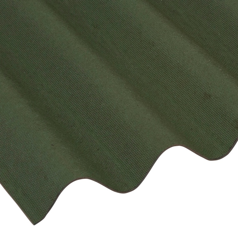 Ariel Coroline Bitumen Sheet - Green 950mm x 2000mm