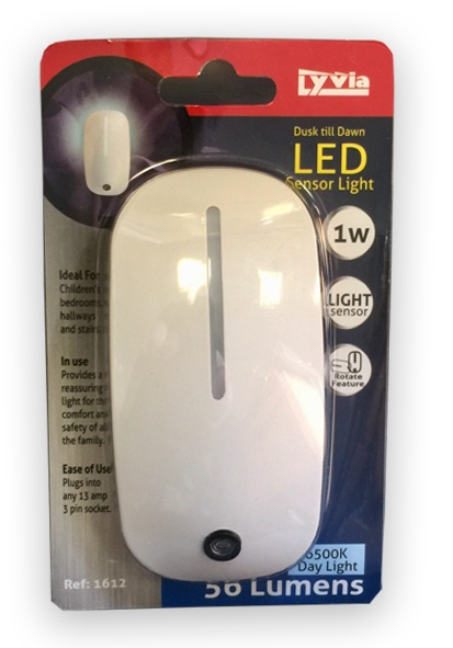 Lyvia Sensor LED Night Lamp 6500k - 1w