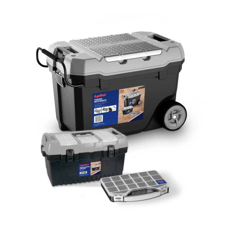 SupaTool Toolbox With Wheels