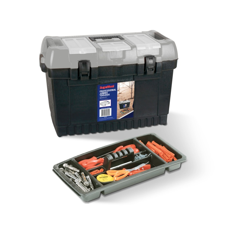 SupaTool Professional Jumbo Toolbox - 560mm/22