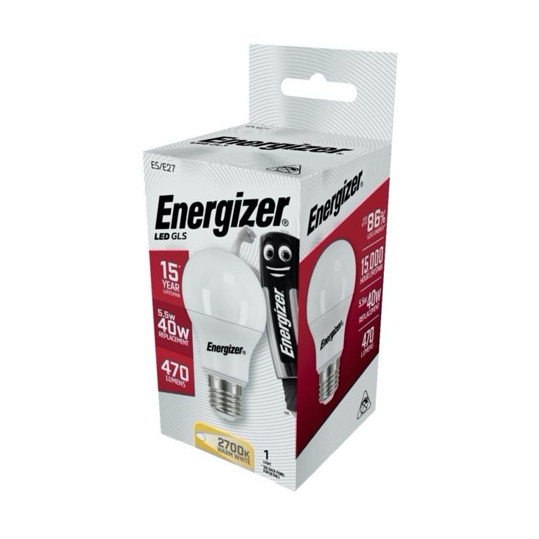 Energizer LED GLS - 5.5w 470lm