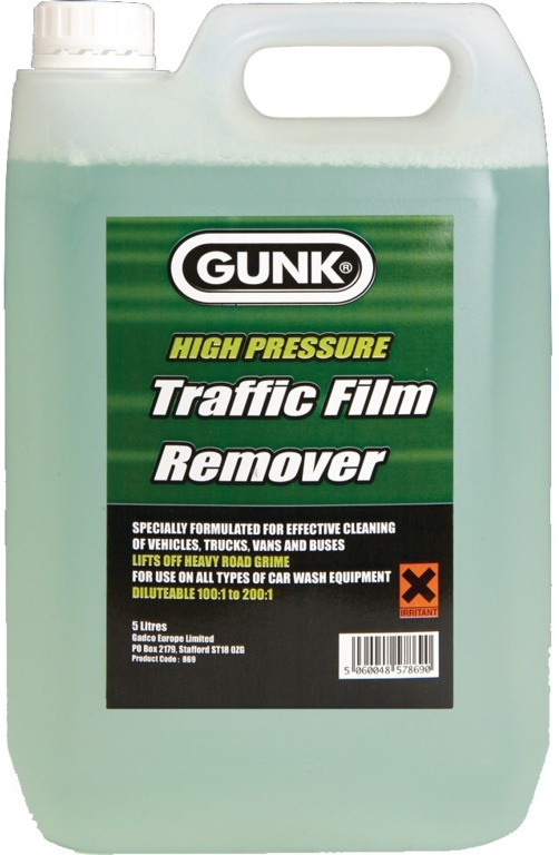 Gunk Traffic Film Remover - 5L