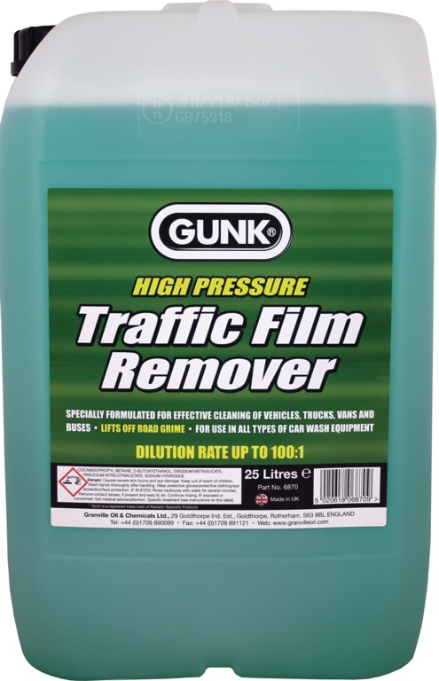 Gunk Traffic Film Remover - 25L