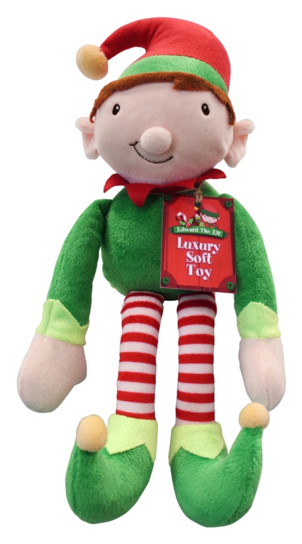 North Pole Plush Elf - 8""