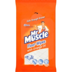Mr Muscle Floor Wipes Pack 12