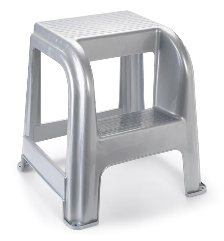 Plasticforte Silver Stool
