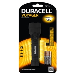 Duracell Voyager 0.5w LED Torch AA