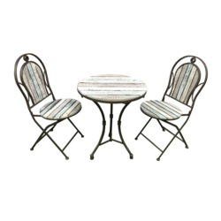SupaGarden Wooden Bistro Set