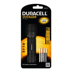 Duracell Voyager 1w LED Torch AAA 60 Lumens