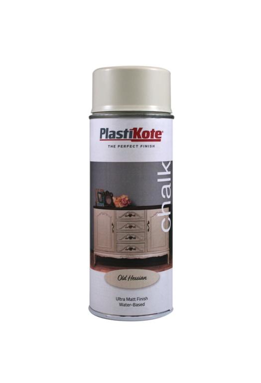 PlastiKote Chalk Spray Paint 400ml - Old Hessian