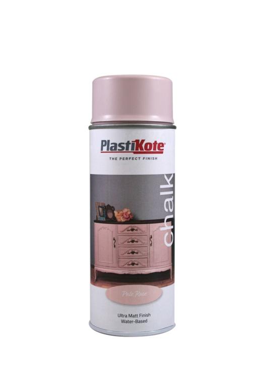 PlastiKote Chalk Spray Paint 400ml - Pale Rose