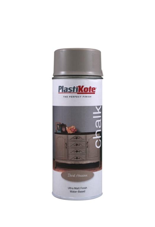PlastiKote Chalk Spray Paint 400ml - Dark Hessian