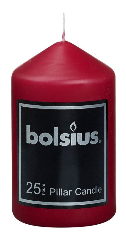 Bolsius Pillar Candle - 98/58 Red