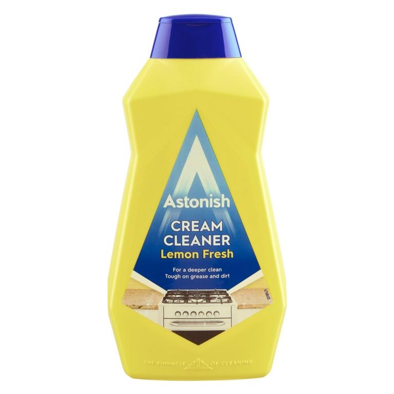 Astonish Cream Cleaner 500ml - Lemon Fresh