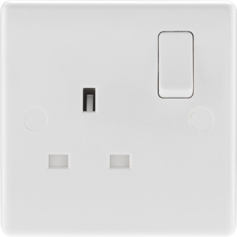 BG Single Pole 1 Gang Switched Socket - 821 13a