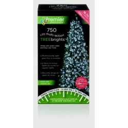 Premier Multi-Action Treebrights With Timer White