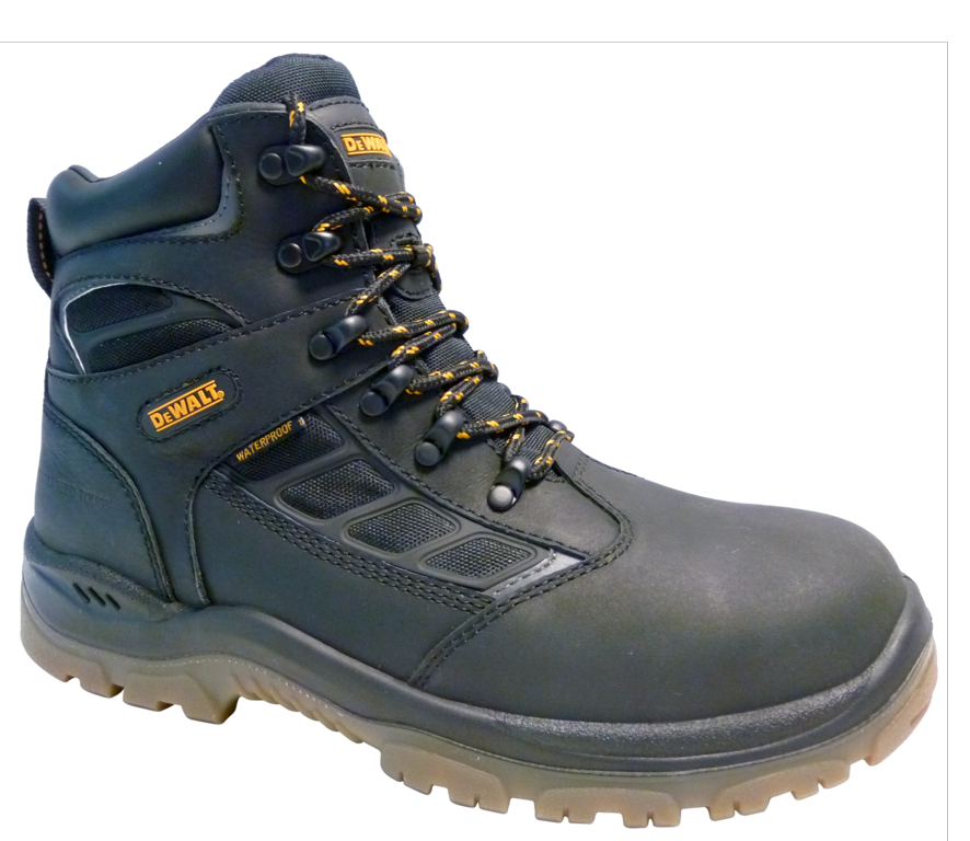DeWalt Hudson Black Safety Boots - Size 8