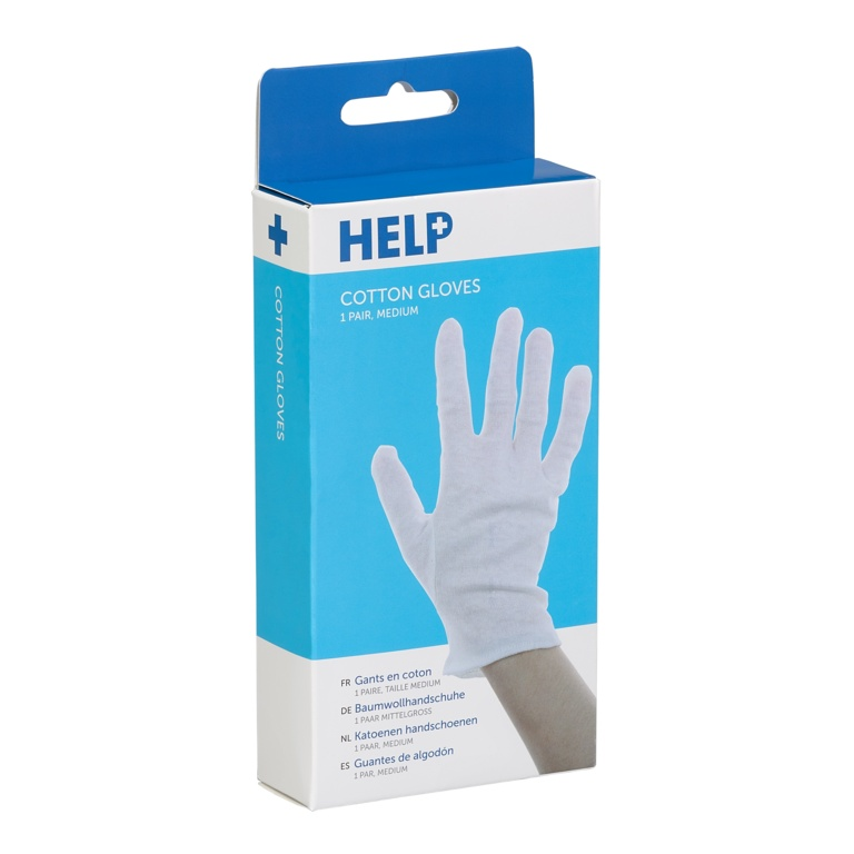 HELP Cotton Gloves - Pair