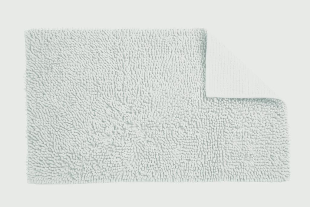 Croydex White Cotton Bathroom Mat - Textile Bath Mats/White