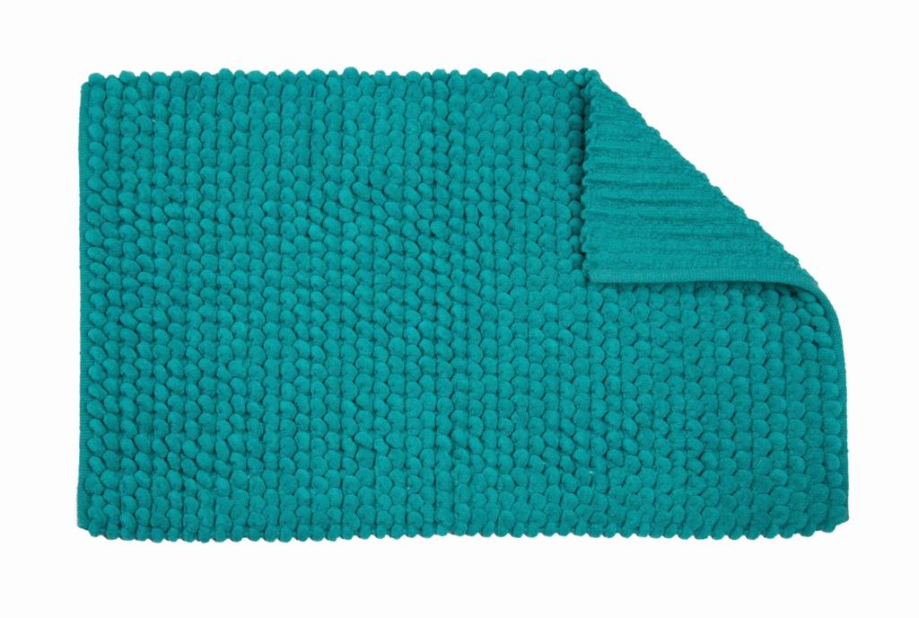 Croydex Aqua Soft Cushioned Bath Mat - Textile Bath Mats/Aqua