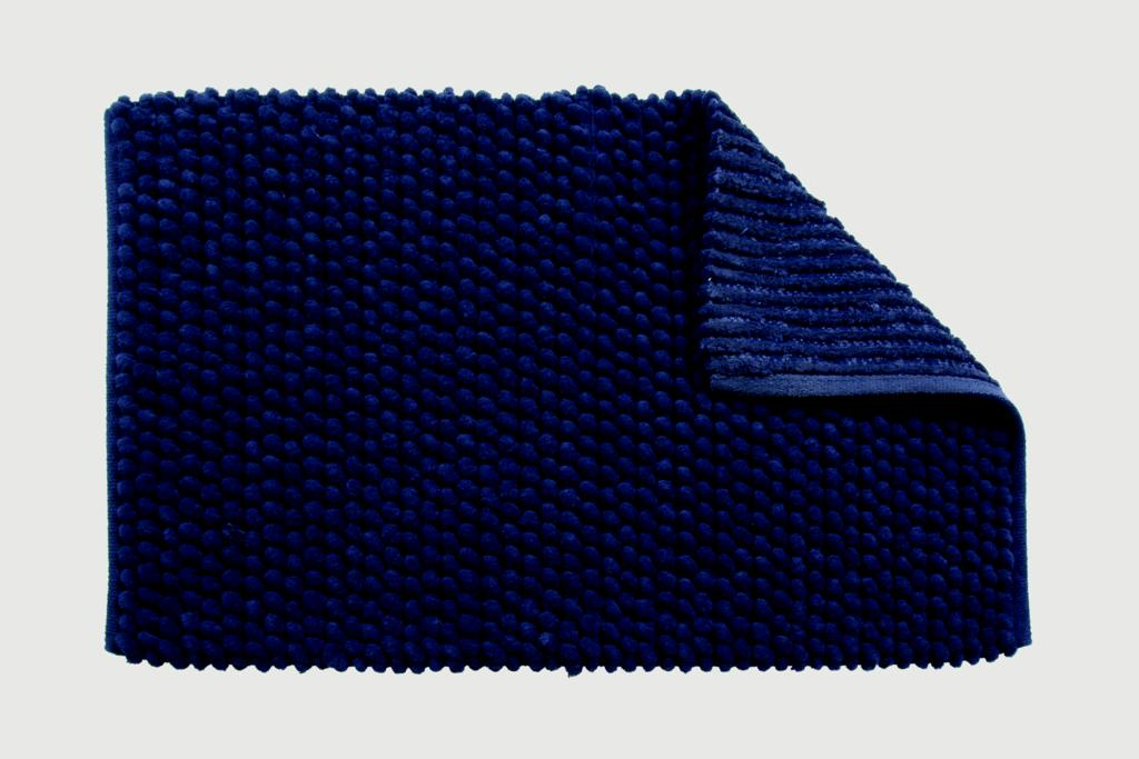 Croydex Navy Soft Cushioned Bath Mat - Textile Bath Mats/Navy